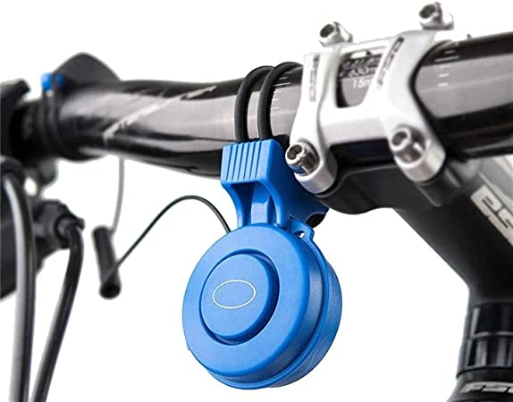 HXiaDyG Timbre De Bicicleta Cuerno USB Loud Recargable Impermeable For Scooter Eléctrico Bici del Camino De MTB 20db For Bicicleta Eléctrica Campana (Color : Blue, Size : One Size): Amazon.es: Hogar