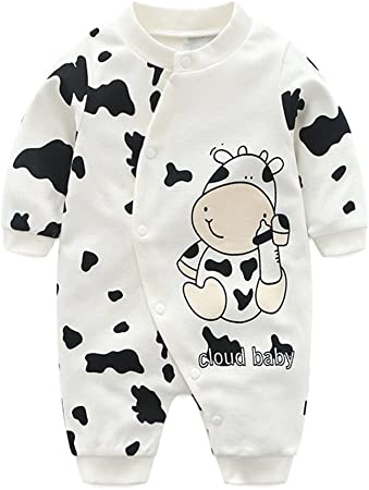 Ropa de Bebé Niños Niñas Monos de una pieza Mameluco Pijama para Bebés