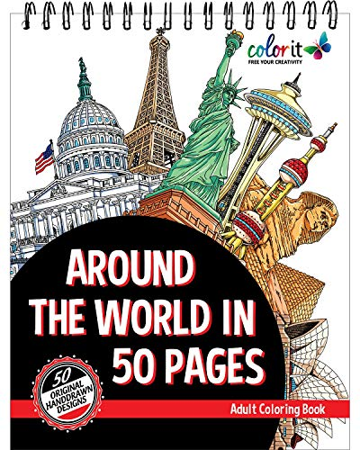 ColorIt - Around The World In 50 Pages ()