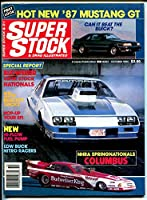Super Stock & Drag Illustrated 10/'86-'87 Mustang GT-S/S Nationals-NHRA-AHRA-VG
