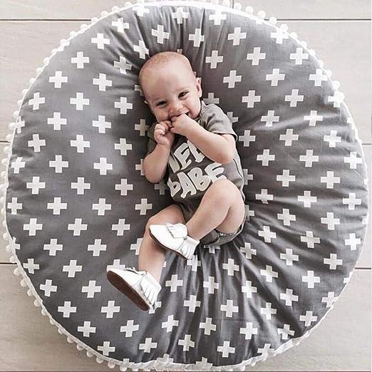Tcaijing Bebé Alfombras de Juego,Juego Suelo Alfombra algodón Bola Encaje Engrosamiento bebé hogar sofá de Tela Infantil Manta Sentado: Amazon.es: Hogar