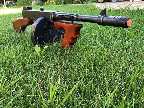 Tommy Gun - Replica Guns - Cosplay Gun - Movie Guns - Gangster Gun -  Thompson Submachine Gun - Wooden Gun - Cosplay Props - Weapon Replicas -  Gangster