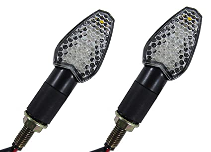 Automobiles & Motorcycles Reasonable Led Lamp Indicator Rear View Side Rearview Wing Mirrors For Honda Suzuki Yamaha Kawasaki Ducati Etc Models All Street Bikes Be Novel In Design