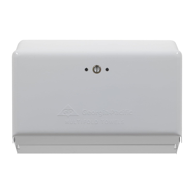 Georgia-Pacific 54720 Chrome Multifold Space Saver Paper Towel Dispenser 11.63 Width x 4.25 Length 11.63 Width x 4.25 Length