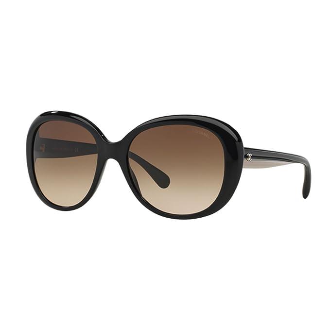 nuovo concetto 2c7f1 44d37 Occhiale da sole Chanel CH5312 C943S5 nero black sunglasses ...