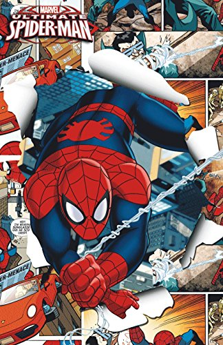 """Edge Home Products Spider-Man Framed 3D Wall Art, 11 x 17"""", Red"""