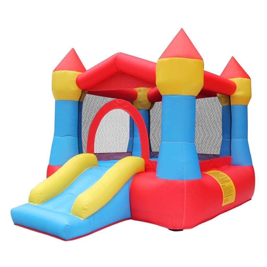 WJSW Castillos hinchables Castillo Inflable para niños Castillo de ...