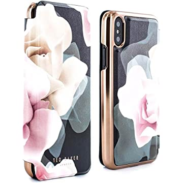 c3c97c5f6 Ted Baker KNOWIT Mirror Folio Case for iPhone X XS
