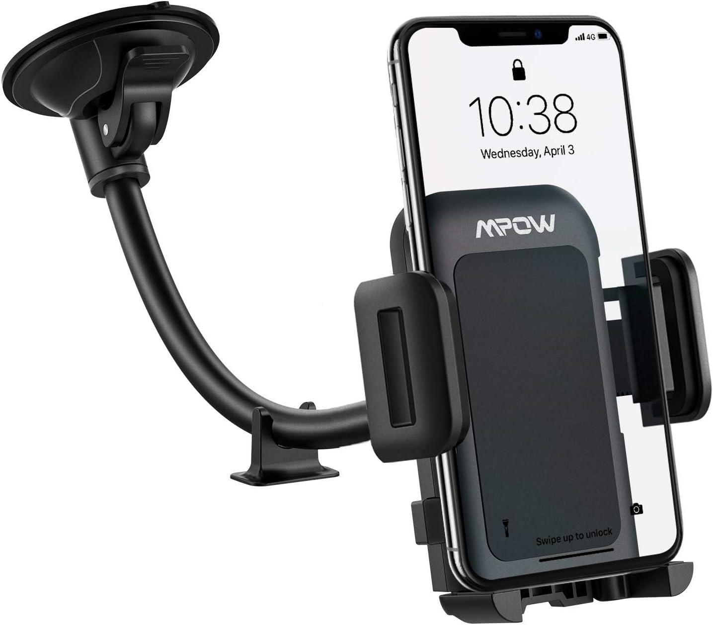 Mpow windshield Prius phone mounts