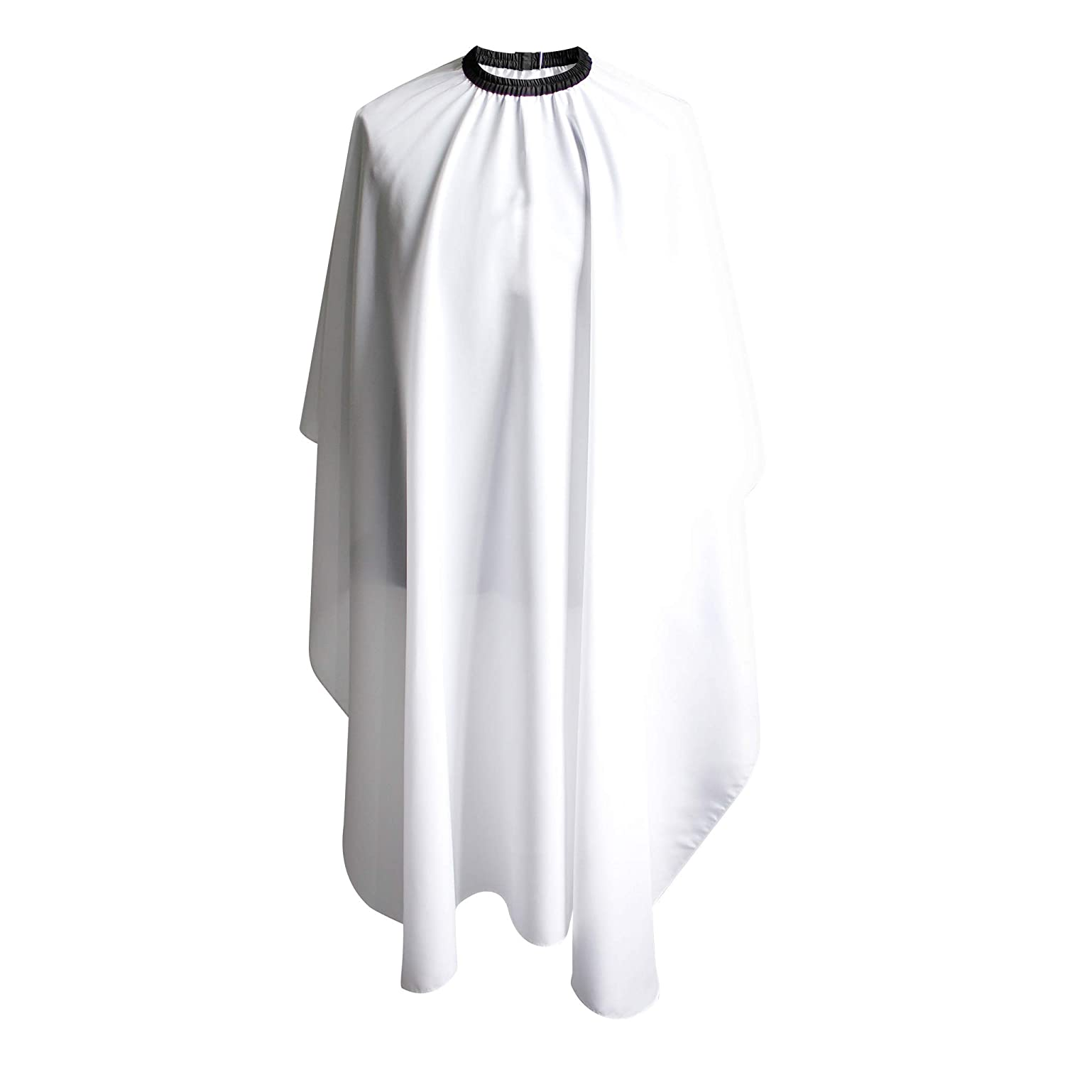 "SMARTHAIR Professional Salon Cape Polyester Haircut Apron Hair Cut Cape, 54""x62"", White, C026005B 54""x62"" Smart hair"