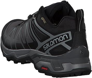 Salomon X Ultra 3 GTX, Zapatillas de Senderismo para Hombre, Negro (Black/Magnet/Quiet Shade), 41 1/3 EU: Amazon.es: Zapatos y complementos