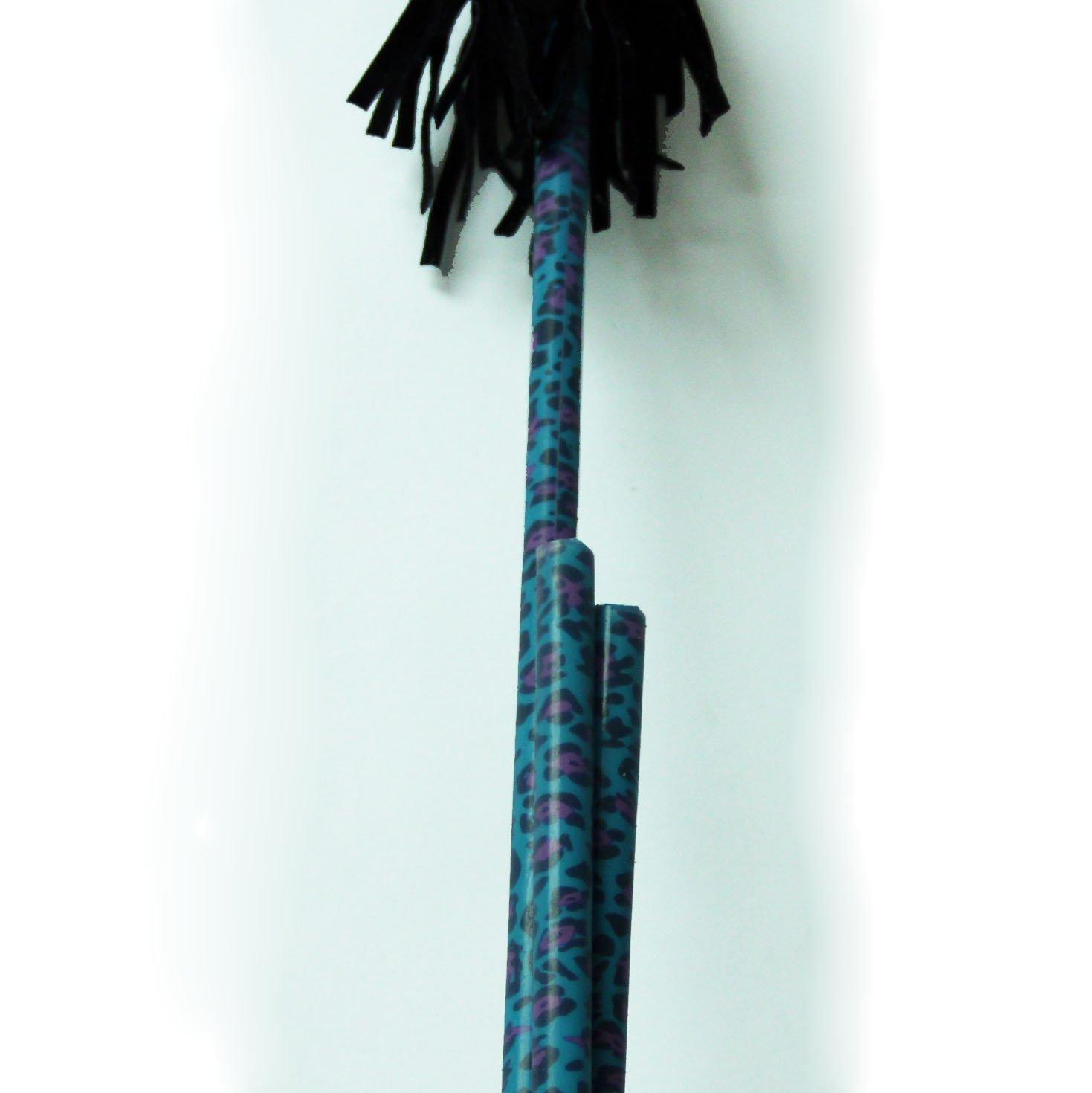 Z-Stix Mosquito Flower Sticks-Blue Leopard- Juggling Sticks