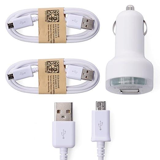 148 opinioni per XCSOURCE® Bianco 2pcs Micro USB Cavo di ricarica Sync Dati + Auto