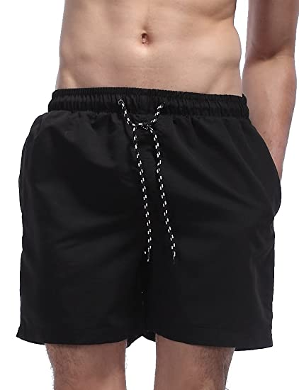 7c7c4609c8b0b Malavita Men s Beach Shorts Mesh Lining Swim Trunks with Pockets (US L Asia  Tag XXL