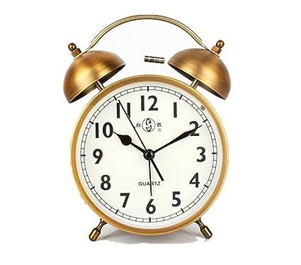NAOZHONG Difícil Despertar Despertador Grande Alarma ...