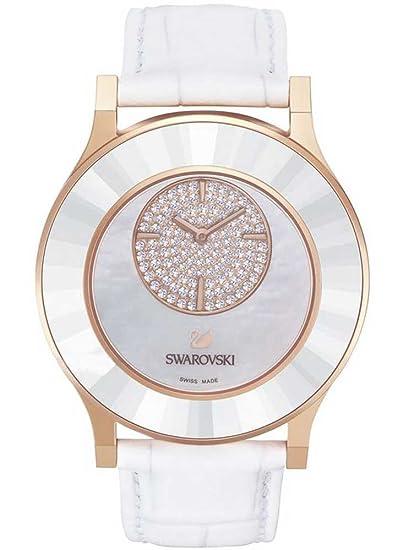 Swarovski Reloj analogico para Mujer de Cuarzo con Correa en Piel 5095482: Amazon.es: Relojes