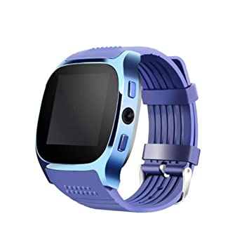 XHZNDZ Reloj Inteligente Bluetooth inalámbrico con Cámara, Desbloquear Reloj Elegante de iPhone Reloj Slot de