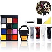 Unomor Halloween Schminke Halloween Makeup Zombie Schminke