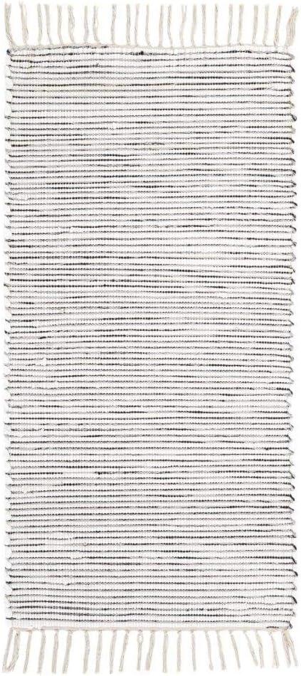 Lavable a 30/°C Farbe:Beige onloom Alfombra Milo Tejida a Mano Gr/ö/ße:60x120cm 100/% algod/ón