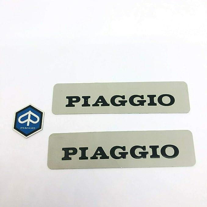 1 Paar Aufkleber Aus Metall Emblem Vorne Für Ciao Px Sc Pxv Sc Si Bravo Und Andere Modelle Auto