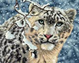 Dimensions Needlecrafts Counted Cross Stitch, Snow Leopard