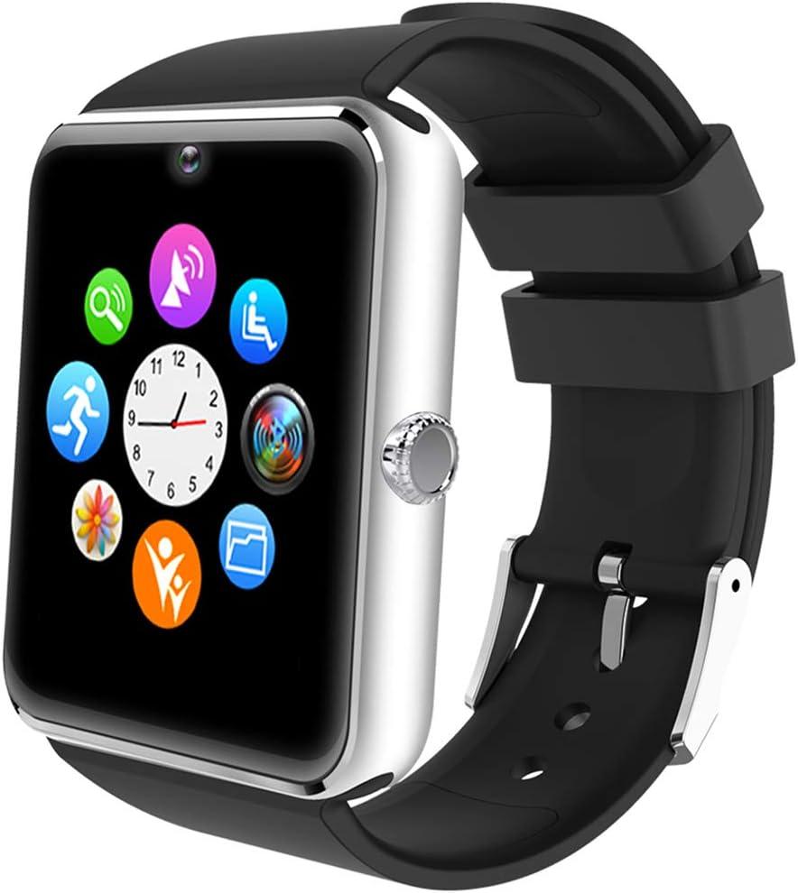 Willful Smartwatch Uomo Orologio Telefono con SIM SD Card Slot Smart Watch Bluetooth per Android Rispondere Chiamate Orologio Sportivo Fitness Tracker Contapassi Conta Calorie con Fotocamera Sveglia
