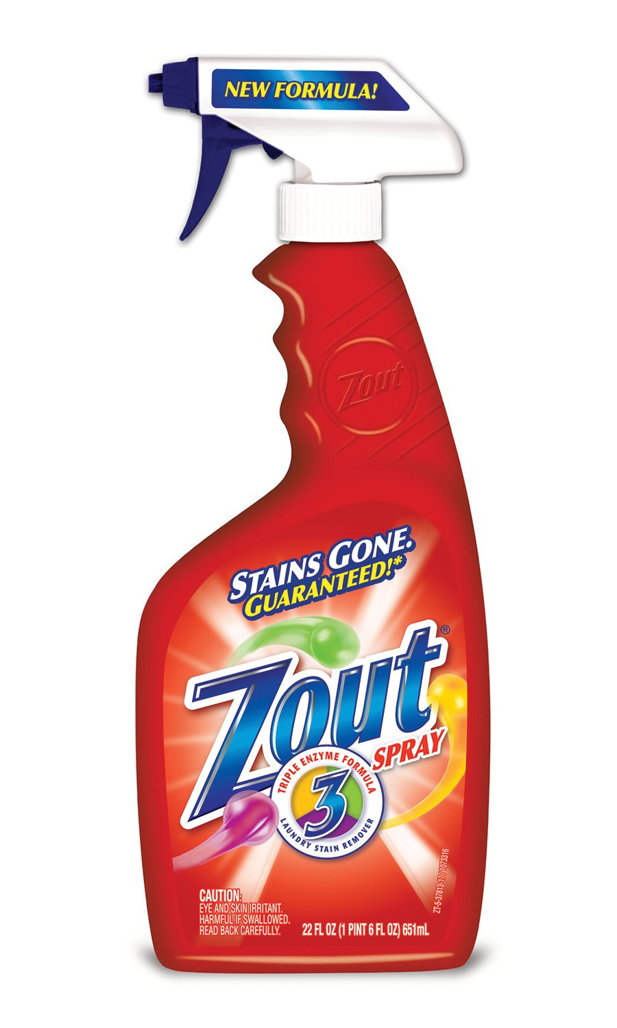 Zout Stain Remover Spray 22 oz Bottle (Pack of 12)