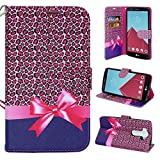 LG V10 Case, LG G4 Pro Case, Customerfirst - Dual-Use Flip PU Leather Fold Wallet Pouch Case Premium PU Leather Wallet Flip Case for LG G4 Pro / G4 Note / LG V10 (Cheetah Paws)