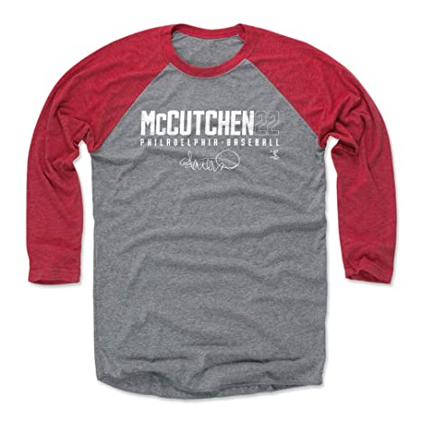 san francisco 222f2 4a54d Amazon.com : 500 LEVEL Andrew McCutchen Shirt - Philadelphia ...
