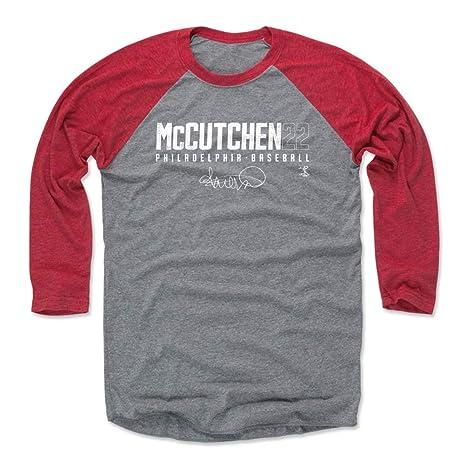 san francisco e7204 3ec73 Amazon.com : 500 LEVEL Andrew McCutchen Shirt - Philadelphia ...