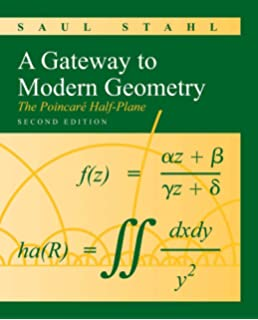 Algebra pure and applied aigli papantonopoulou 9780130882547 a gateway to modern geometry the poincare half plane fandeluxe Gallery