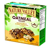 Nature Valley Oatmeal Squares Banana Bread & Dark Chocolate, 5-Count, 175 Gram