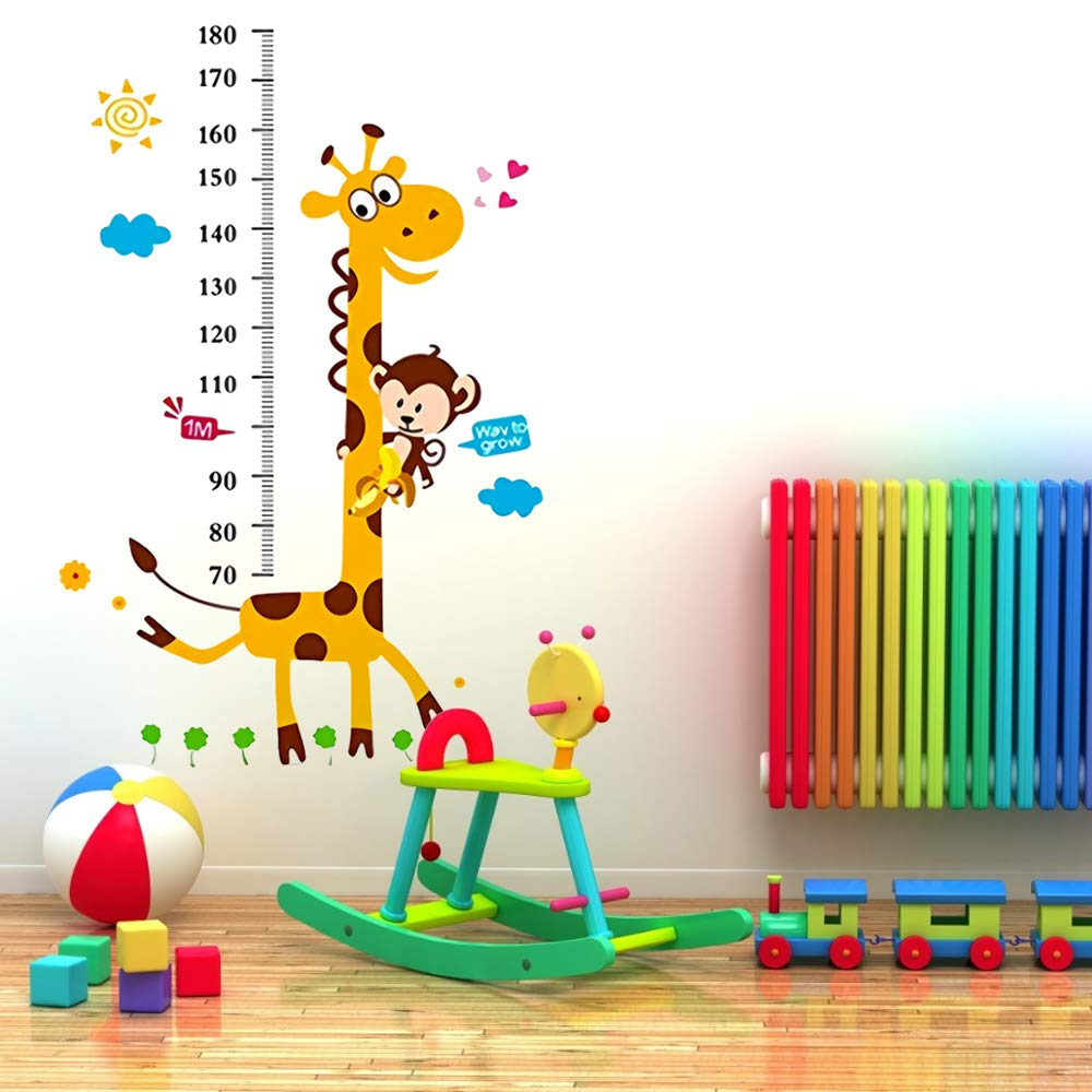 Amazon.com: Height Growth Chart Sticker,Outivity Peel and ...