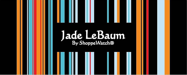 Amazon.com: Jade LeBaum Womens Black Bracelet Watch with Crystals Boyfriend Style Big Chunky Large Face Reloj de Mujer Negro JB202733G: Jade LeBaum: Watches