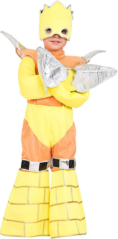 Costume di Carnevale da Guerriero di Gorm TRAPANATORE Baby Vestito per Bambino Ragazzo 1-6 Anni Travestimento Veneziano Halloween Cosplay Festa Party 7404 Taglia 5