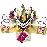 Second Nature POP018 - Tarjeta de felicitación de aniversario