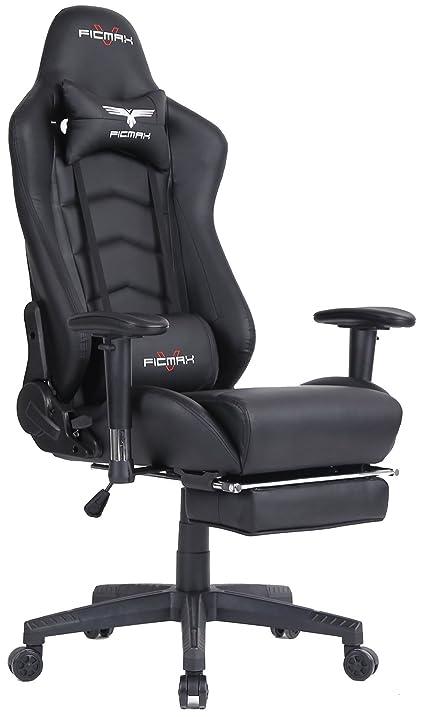 Amazon.com: Ficmax Ergonomic High-back Large Size Office Desk ...