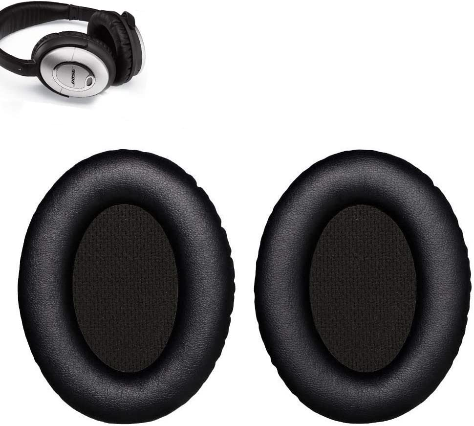Over-Ear Headphones Black QC35 II and Quiet Comfort 35 II WADEO Bose QC35 Replacement Ear Pads QC35 Ear Cushion Kit Memory Foam Earpads Compatible with Bose QuietComfort 35