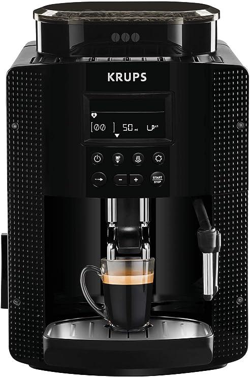 Krups Pisa EA81P0 - Cafetera súper automática, 15 bares, molinillo ...