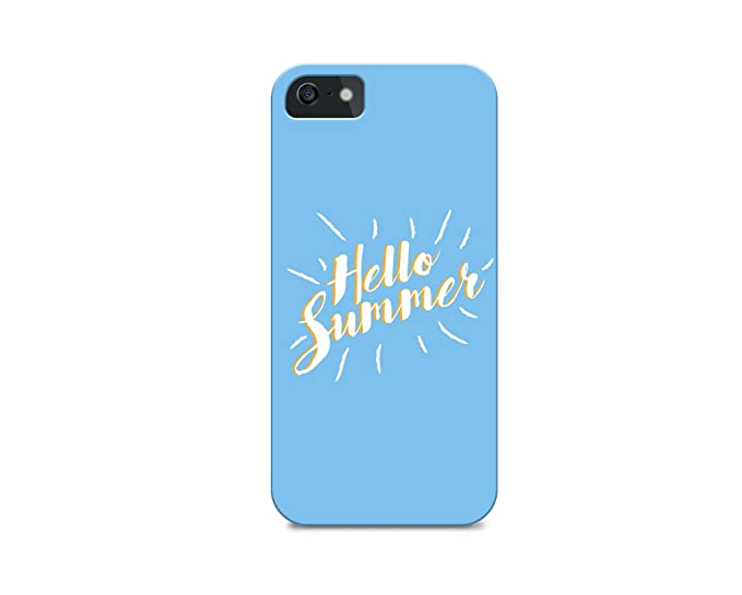 Amazoncom Iphone 8 Tpu Case Cover All Sides Hello Summer