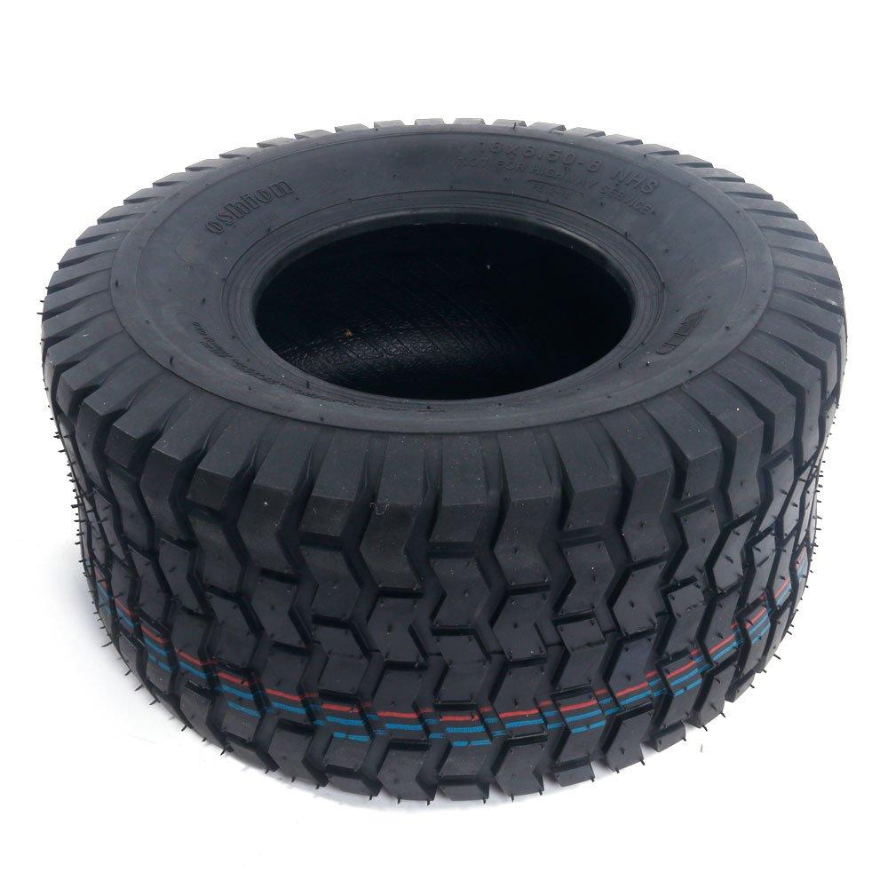 2x 18x8.50-8 Turf Saver Lawn & Garden Tire 4PR Lawn Mower Golf Cart Tires by Motorhot (Image #7)