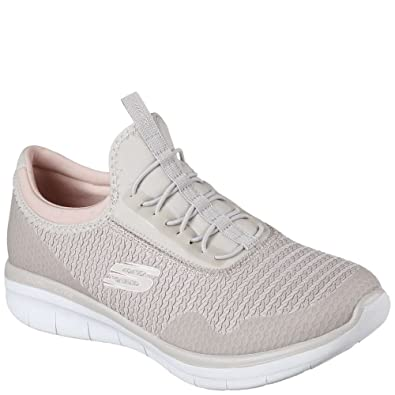 Skechers Damen Synergy 2.0-Mirror Image Slip On Sneaker  Amazon.de ... b2e32459af