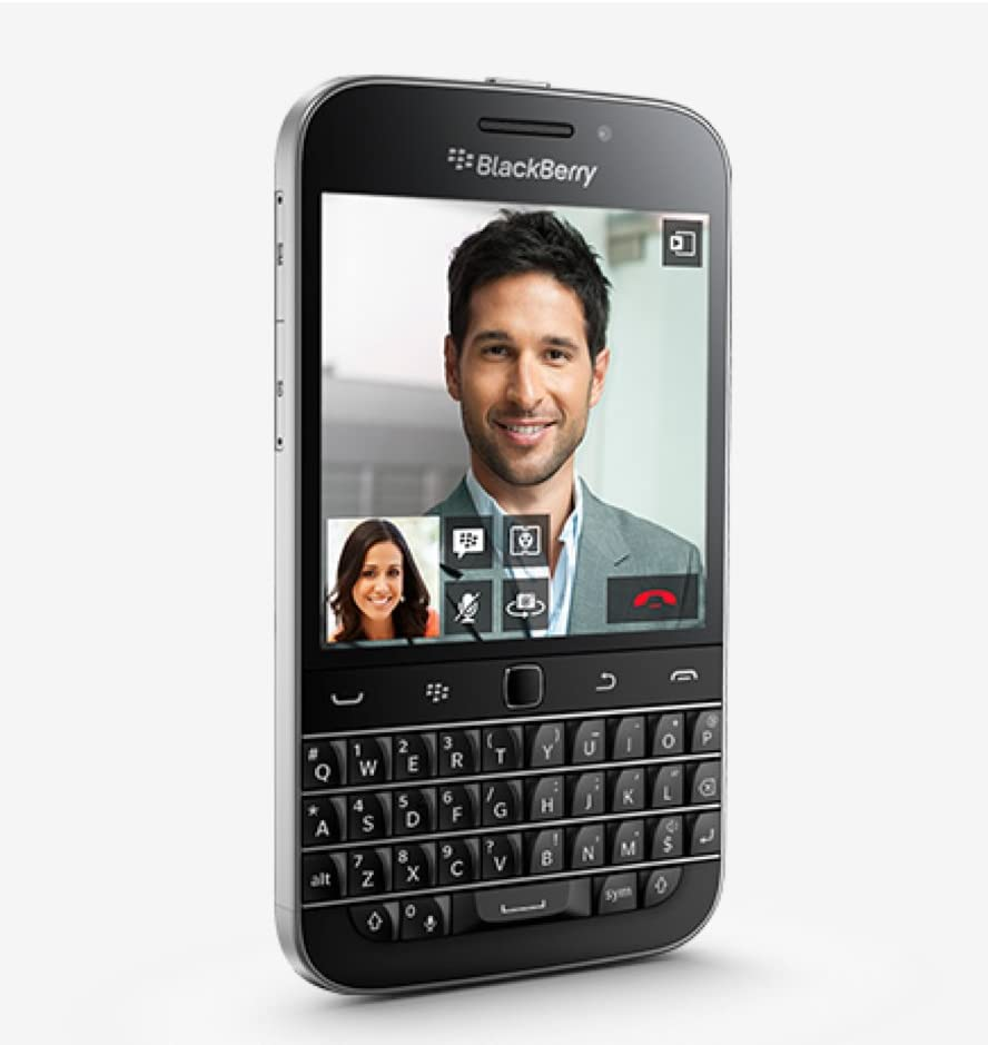 16GB Black Blackberry Classic T-Mobile Qwerty Smartphone Wi-Fi + 4G LTE