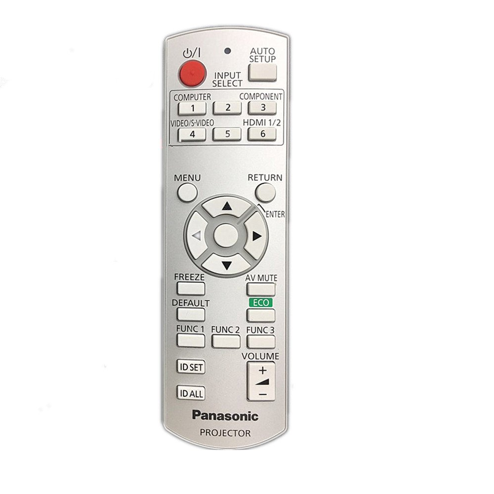 Rlsales Universal Remote Control Replace Panasonic N2QAEA000015 N2QAYB000064 N2QAYB000450 N2QAYB000371 3LCD 3D Projector