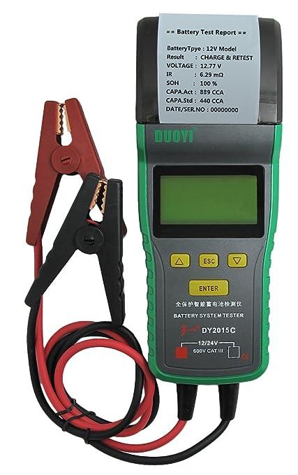 Amazon Com Dy2015c Automotive Battery Tester With Printer 12v 24v