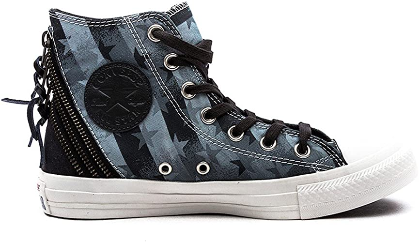 Converse Chuck Taylor All Star Femme Burnished Suede Tri Zip