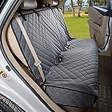 "VIEWPETS 长座椅保护罩 - 防水,重型防滑宠物汽车座椅保护狗通用尺寸适合汽车、卡车和 SUV 灰色 49"" L × 56"" W"