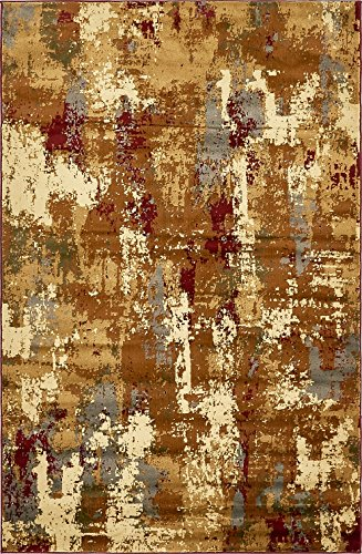 Modern Contemporary All Décor Floor Rugs Beige 5' x 8' Camden Area Rug Living Room Bedroom Carpet