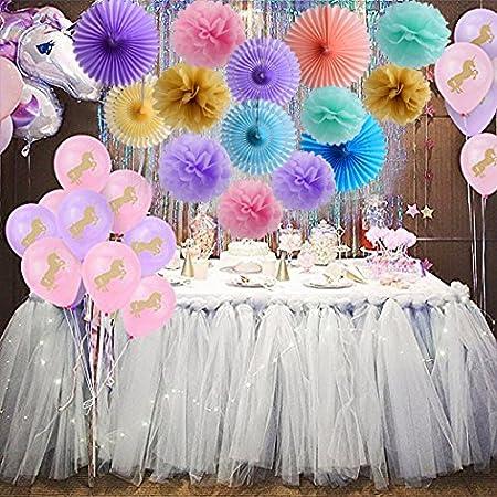 Black Gold Tissue Pom Poms Paper Lantern GarlandBirthday Decoration Wedding Themed Party Supplies