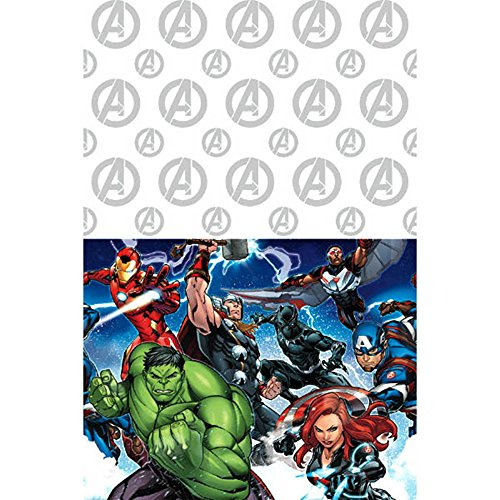 (Avengers 'Epic' Plastic Table Cover)